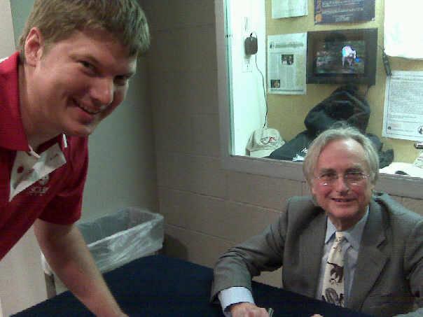 Richard Dawkins and me.